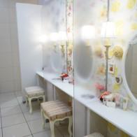 ミリオン幕張 女性トイレ アメニティ トイレ 可愛い アイキャンディ 女性集客 綺麗なトイレ 幕張 パウダースペース